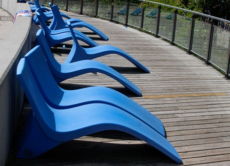 Blue Lounge Chairs