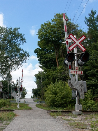 Gormley Railway Crossing
