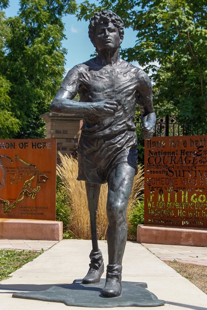 Ransom Park Terry Fox Tribute