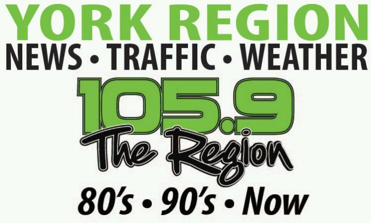 105.9 The Region Radio logo