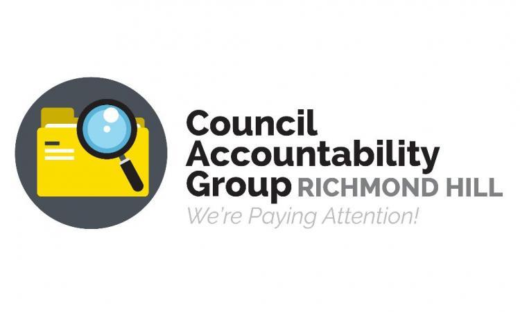 Council Accountability Group Richmond Hill