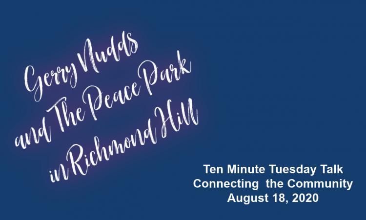 Gerry Nudds - Ten Minute Tuesday Talk