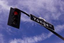 Yonge Street street sign