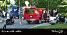 Filming in Richmond Hill