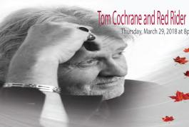 Tom Cochrane at RHCPA