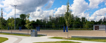 Outdoor Volleyball courts
